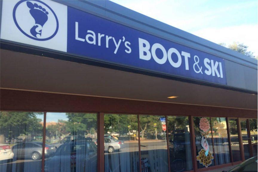 Larrys Bootfitting Storefront
