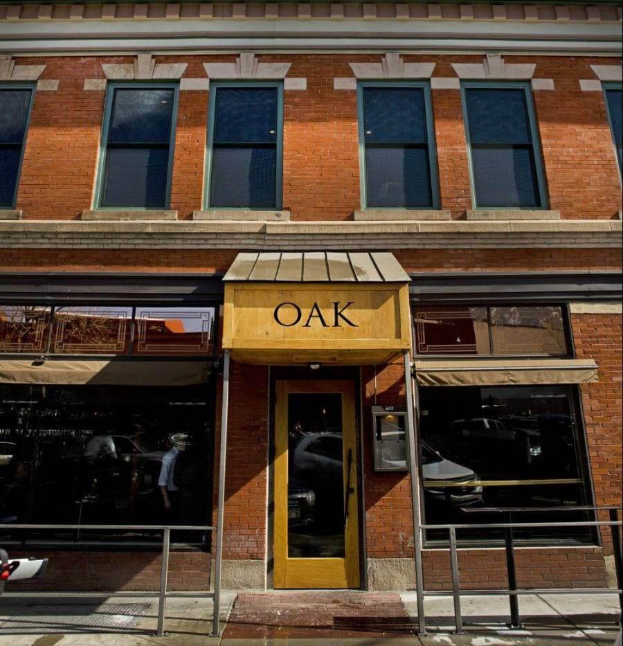 The exterior of Oak in Boulder