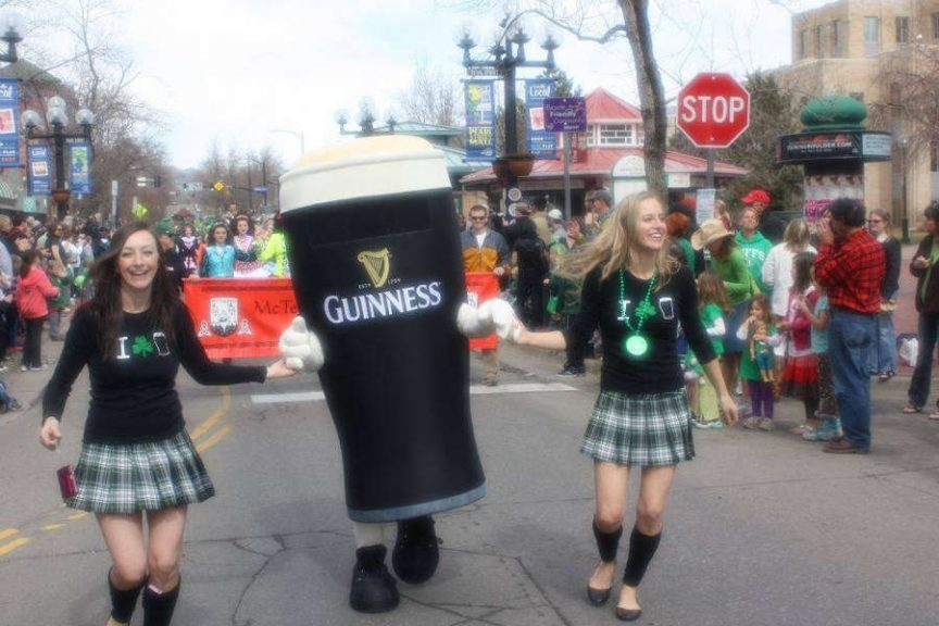 Guiness At St Patricks Day Parade