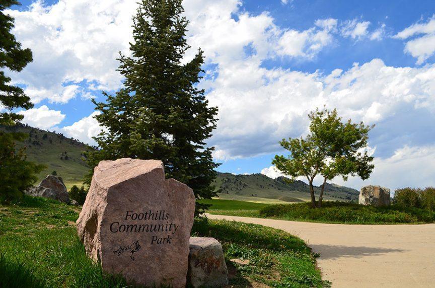 Foothills community park