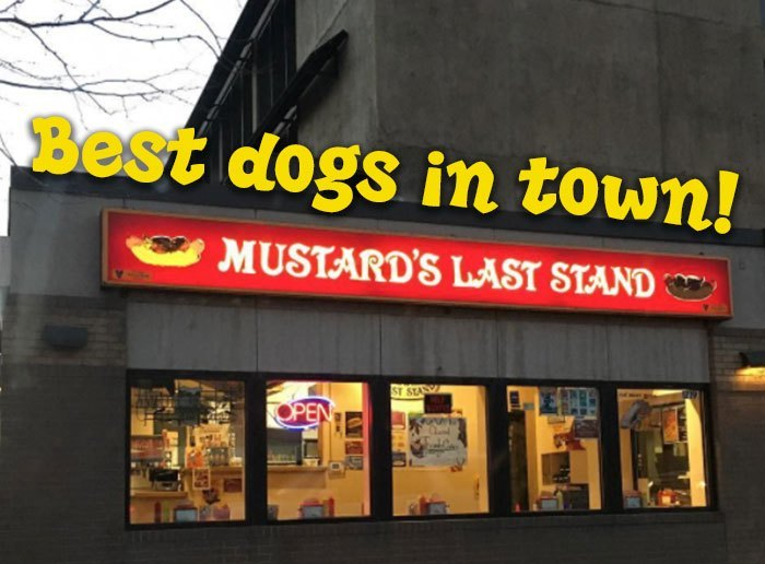 Mustard's Last Stand.