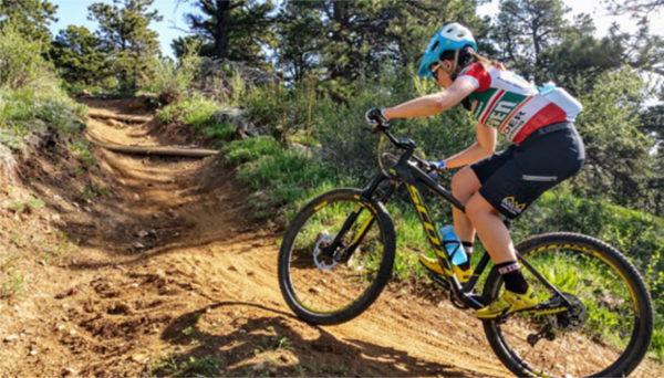 Mountain Biker in Boulder