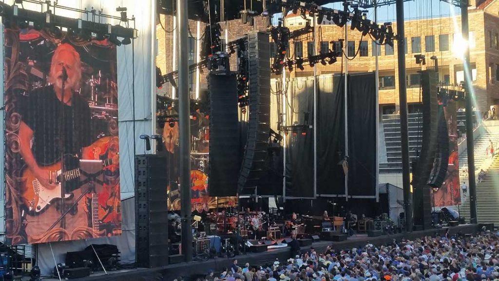Dead & Company at Folsom Field