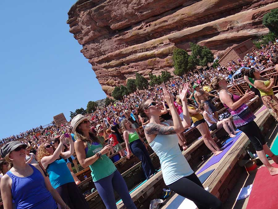 Yoga at Red Rocks