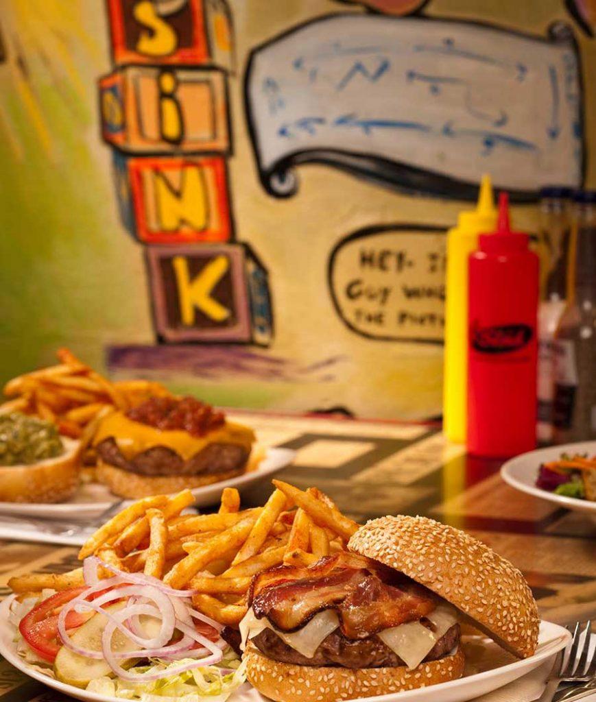 The Sink Burger