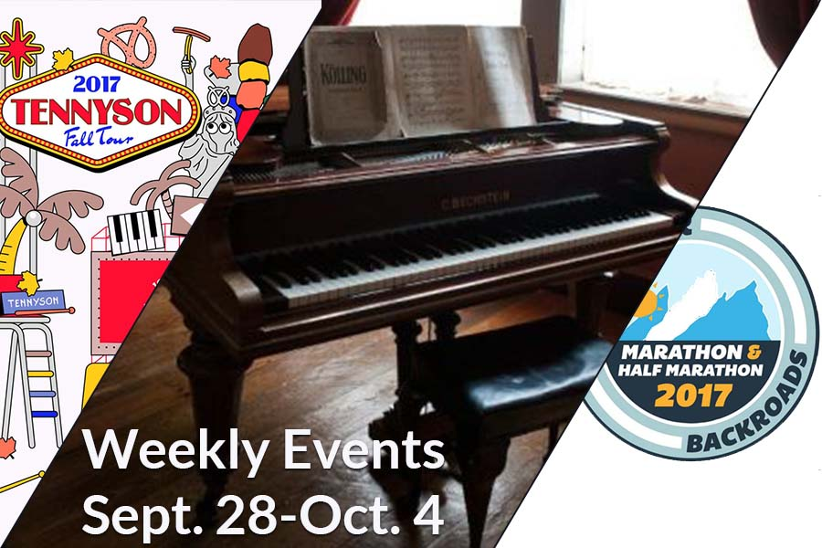 Weekly Events Sept 28-Oct 4