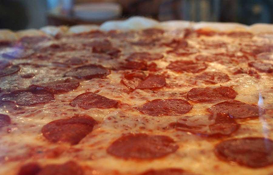 Cosmo's Pepperoni Pizza.