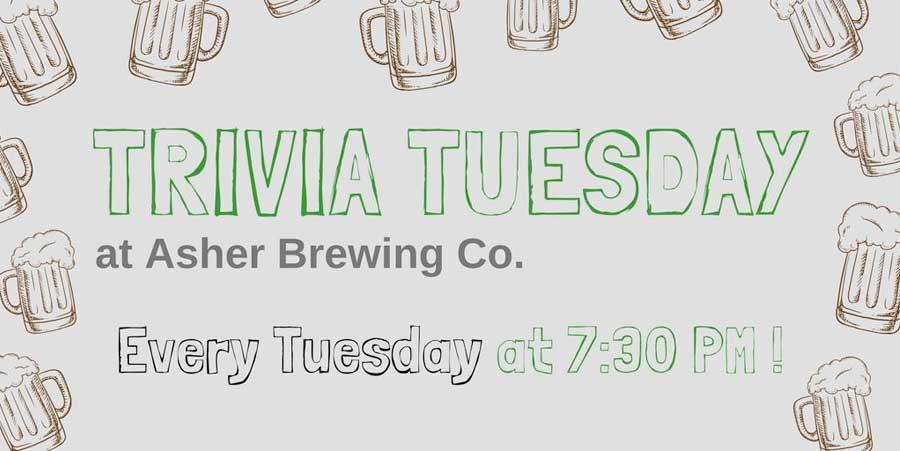 Trivia Night at Asher Brewing