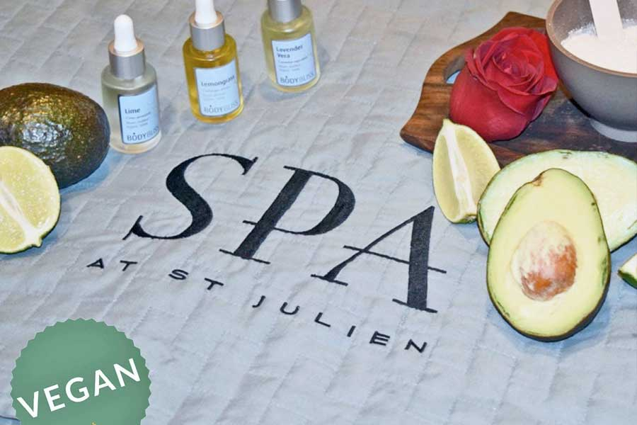 vegan spa treatment