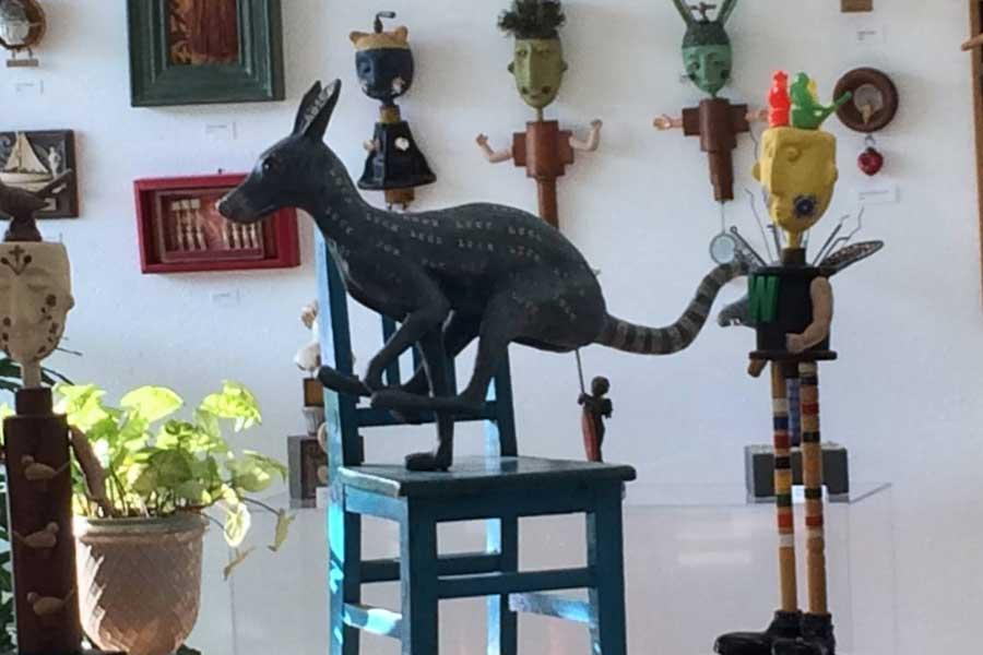 Kangaroo Sculpture