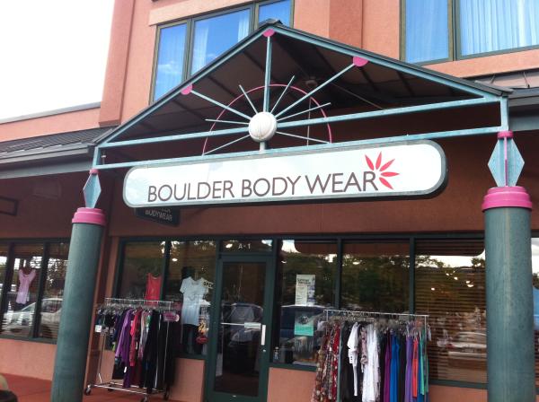 Boulder Body Wear Storefront