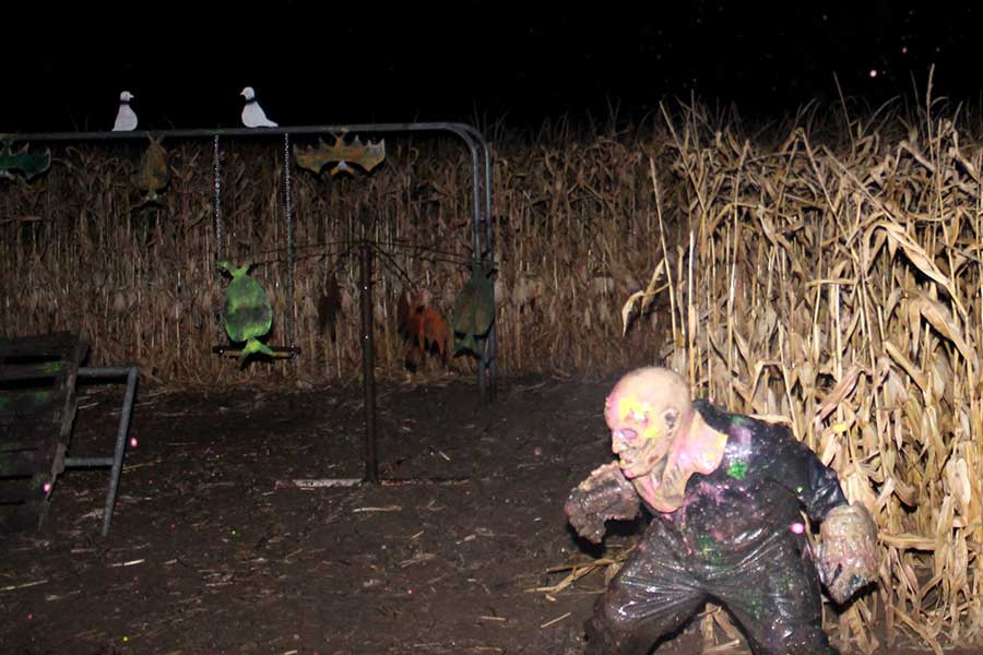 Zombie Paintball Hunt.