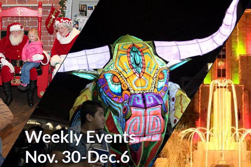 Weekly Events Nov 30 - Dec 6