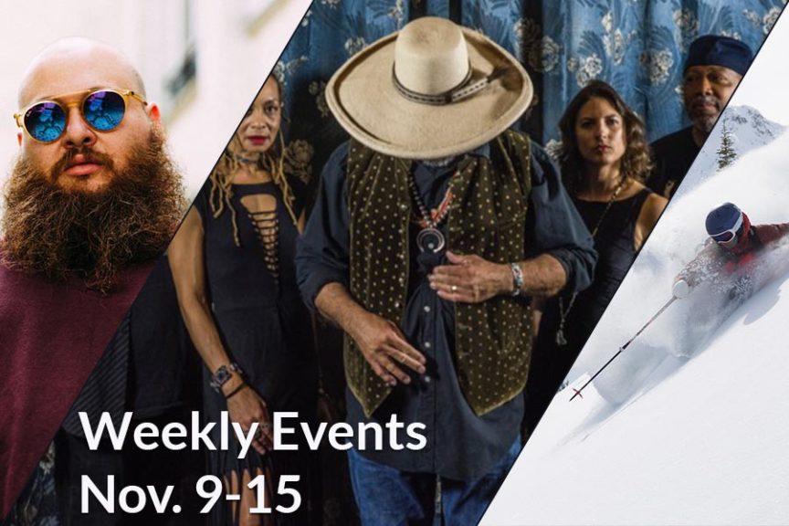 Weekly Events Nov 9 - 15