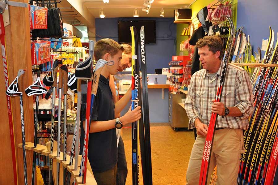 Skis at Boulder Nordic Sport