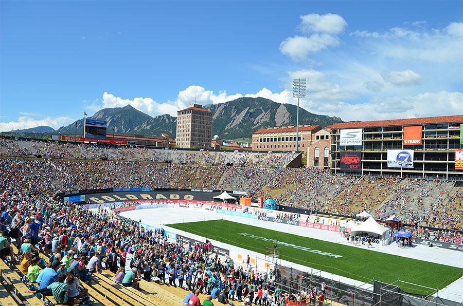 Boulder Bolder finish line