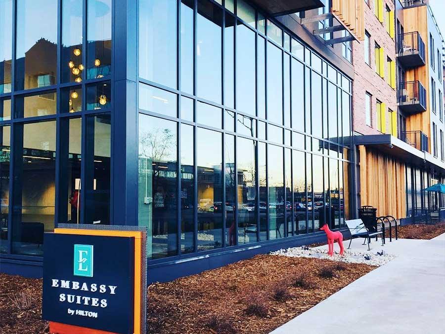 The Embassy Suites Boulder