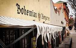 Bohemian Biergarten exterior