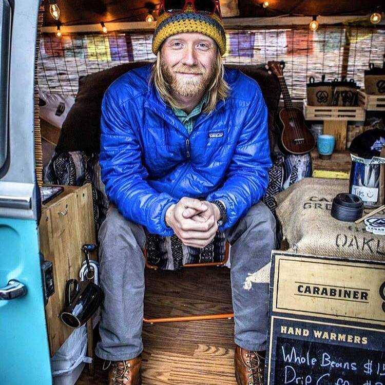 Carabiner Coffe founder Erik Gordon