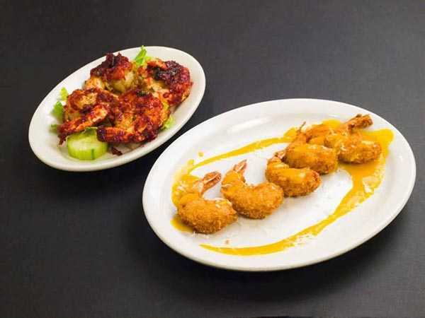 Shrimp at Tandoori Grill