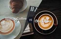 Ozo and Boxcar lattes