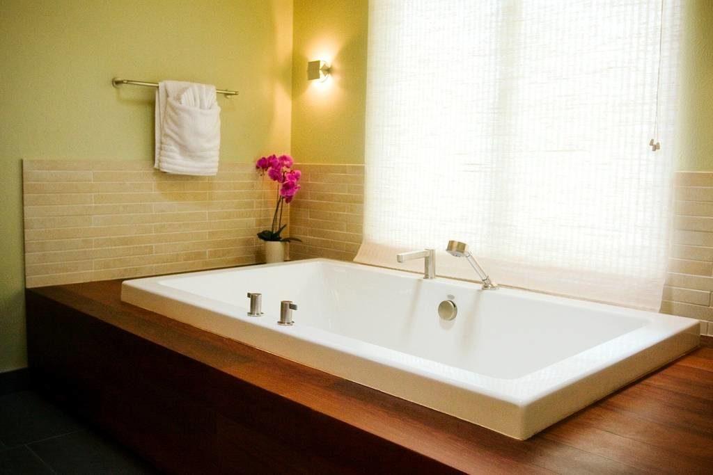 A Spa Like Bathroom in a Boulder AirBnB