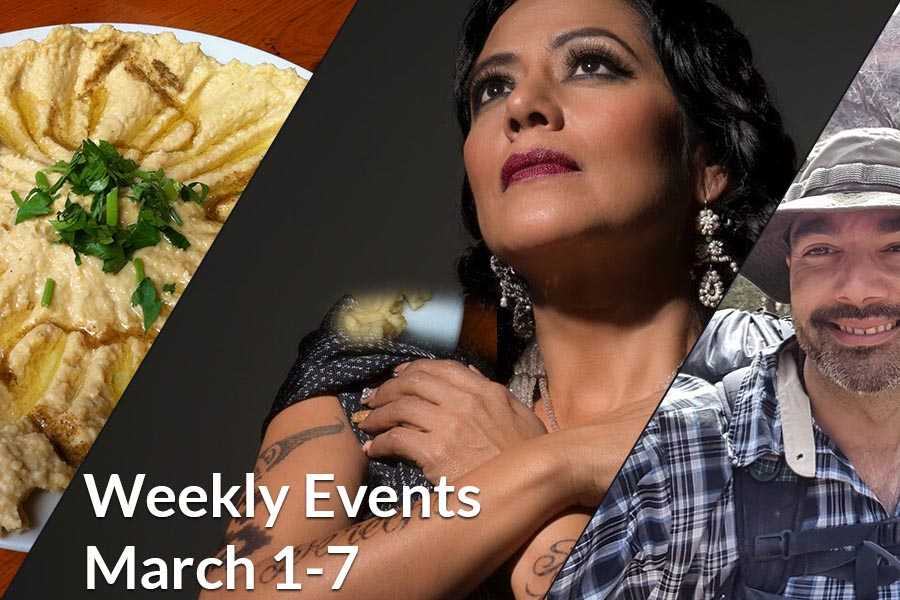 Weekly Events March 1-7