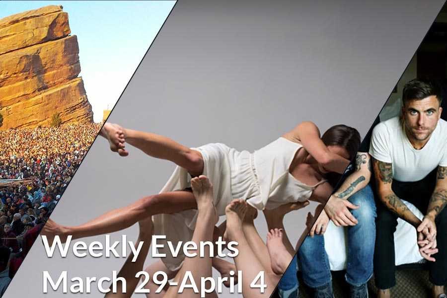 Weekly Events March 29-April 4