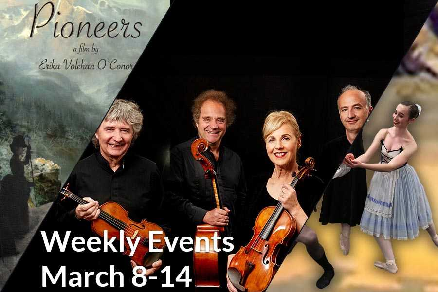 Weekly Events March 8-14