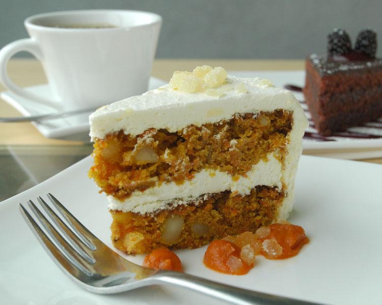 Leaf Carrot Cake