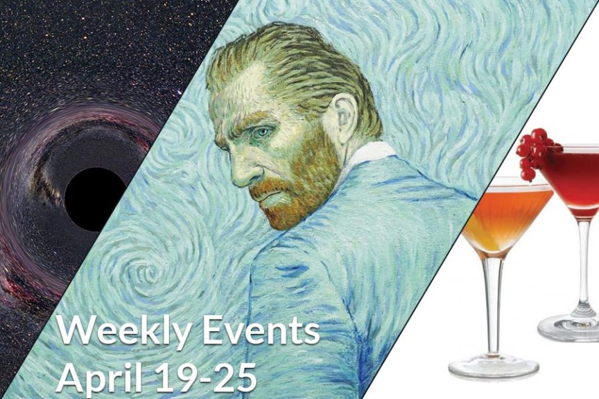 Weekly Events April 19-25