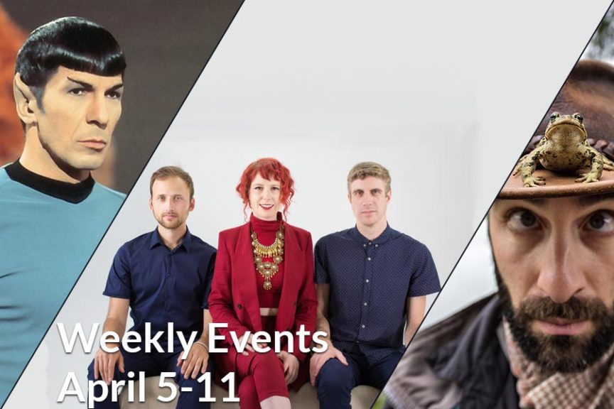 Weekly Events April 5-11