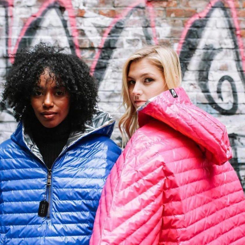 Puffy winter jackets