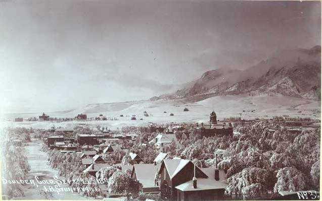 Boulder, 1845
