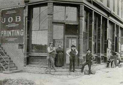 Boulder historic photo