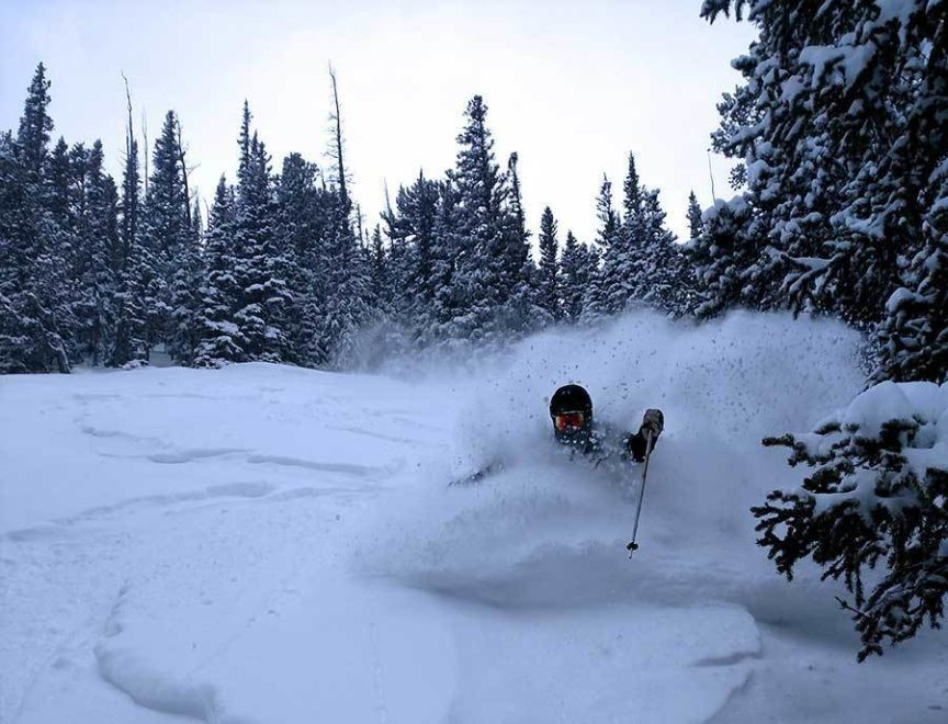 POWDER AT ELDORA Photo by ASHER RUDKIN